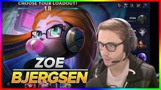 726. Bjergsen - Zoe vs Ryze - S8 Patch 8.19 - NA Challenger - September 30th, 2018