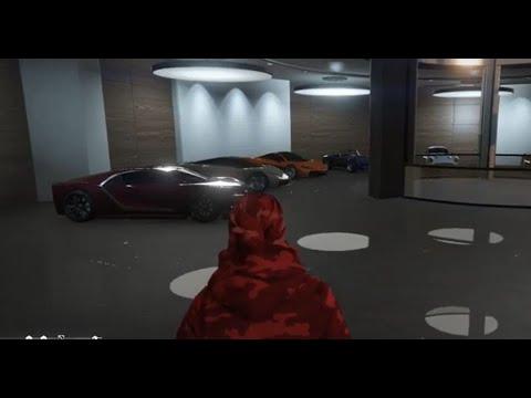 GTA 5 - (clean) 100+ car garage tour part 1