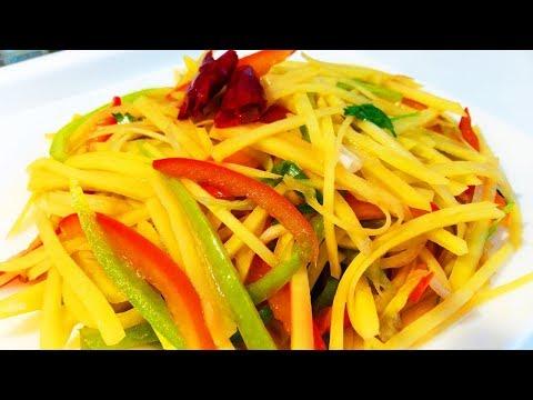 Китайская кухня. Жареные огурцы с шампиньонами и свининойиз YouTube · Длительность: 6 мин21 с