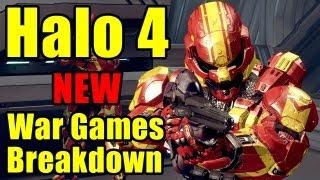 Halo 4 - NEW war games/multiplayer breakdown/analysis
