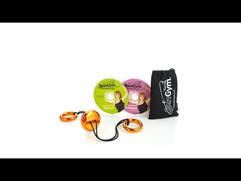 Forbes Riley SpinGym Deluxe Workout System w/2 DVDs