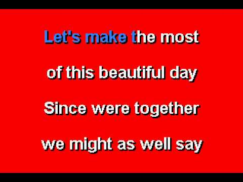 Mr.  Rogers - Won't You Be My Neighbor - Karaoke