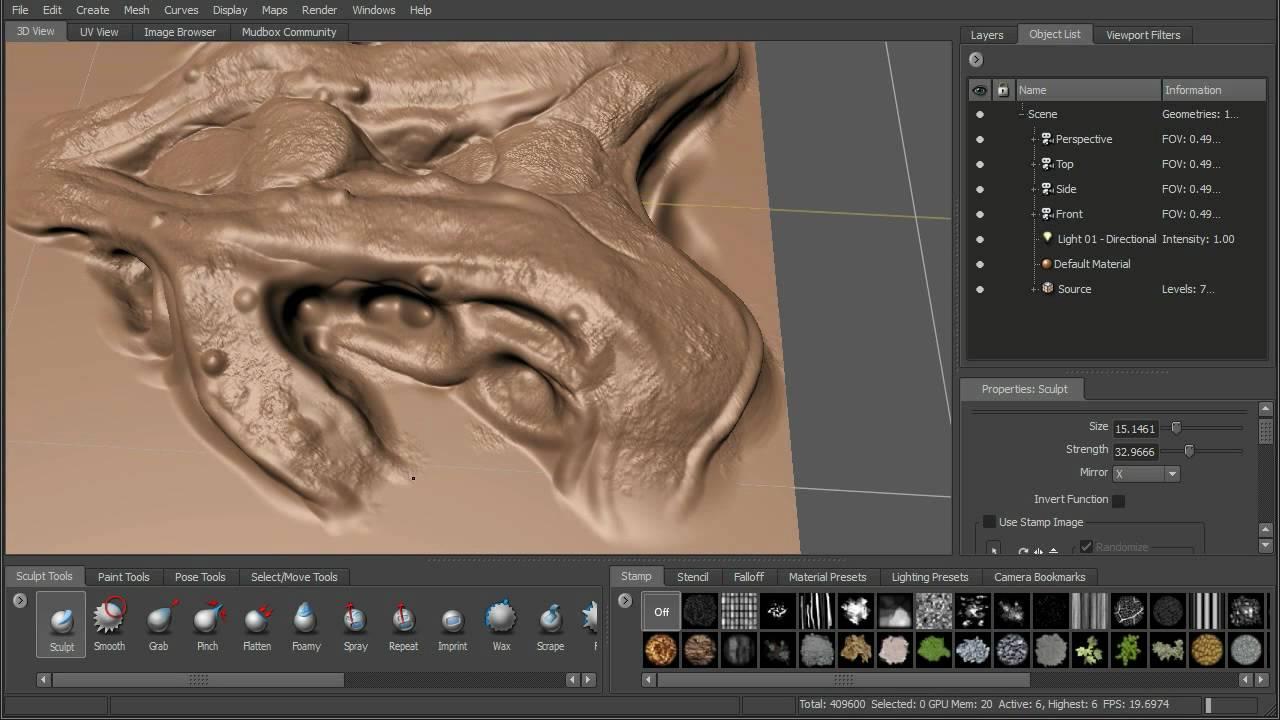 Autodesk Mudbox - Digital Painting & Sculpting Software