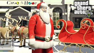 Santa Lives His Best Life In Grand Theft Auto V • Pro Play