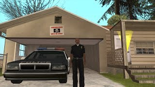 Officer Carl Johnson completes the mission Wu Zi Mu - Badlands mission 10 - GTA San Andreas