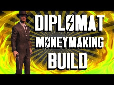 Fallout 4 Builds - The Diplomat - Ultimate Moneymaking Build