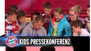 Holger Badstuber steht Rede und Antwort