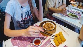 Еда в Гонконге. Пробуем дим самы | Два Билета в Гонконг ч.3