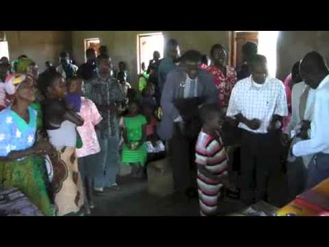 Mozambique Africa Church Service