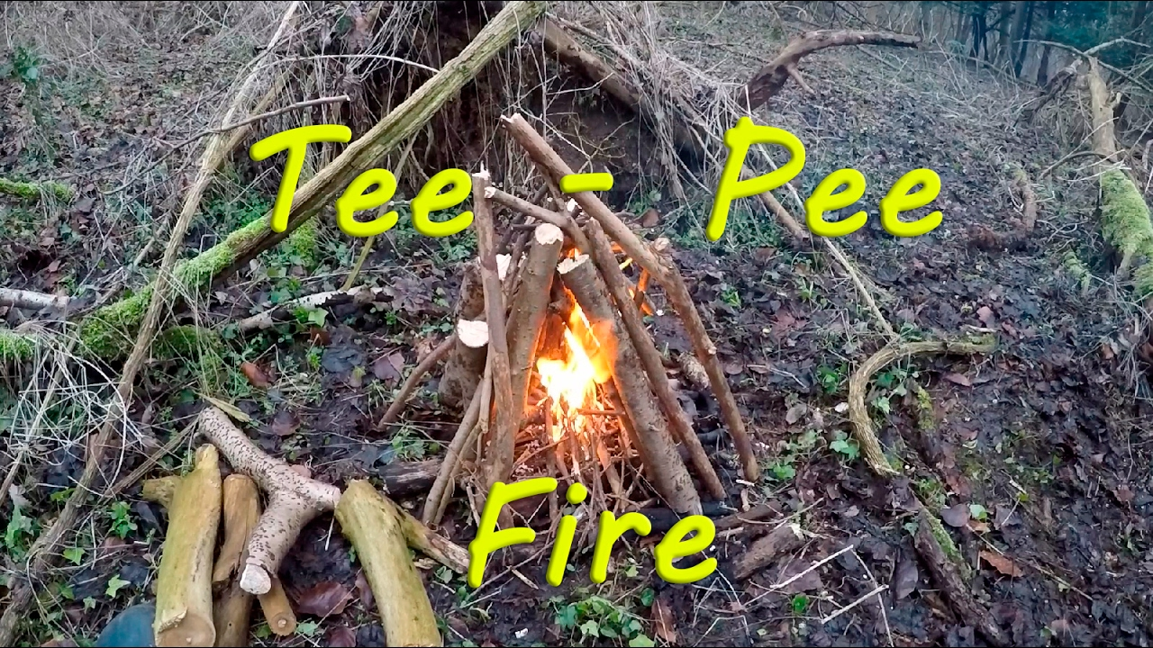 Tee - Pee Fire Bushcraft