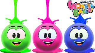 Fun With Magic Crayon | Colors For Children Wonderballs Official