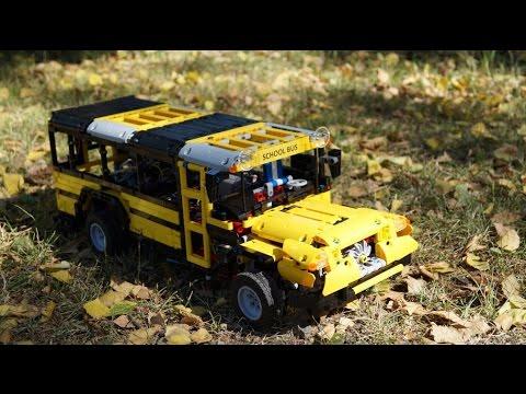 lego technic multi functional school bus moc youtube. Black Bedroom Furniture Sets. Home Design Ideas
