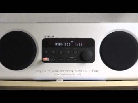 YAMAHA 'Küchen'-Radio TSX-112 shot with SONY DSC-HX10V (Product Review - Technical Report) v2