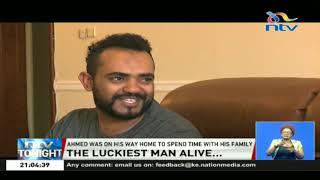 Ahmed Khalid escapes death in the Ethiopian plane crash