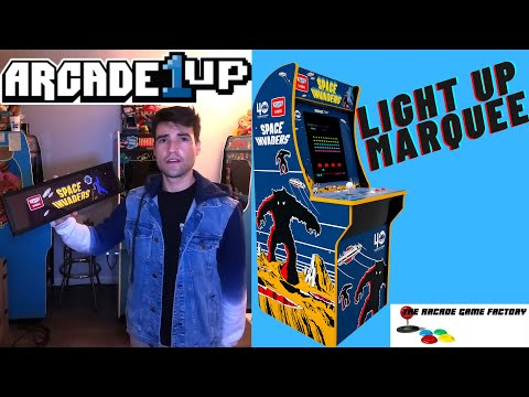 ARCADE1UP $40 LIGHT UP MARQUEE ON SALE from Brick Rod
