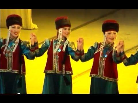 2011 Бурятия ЛОТОС - ТУНКИНСКИЙ ЁХОР - самый веселый ехор Lotus ensemble - yohor