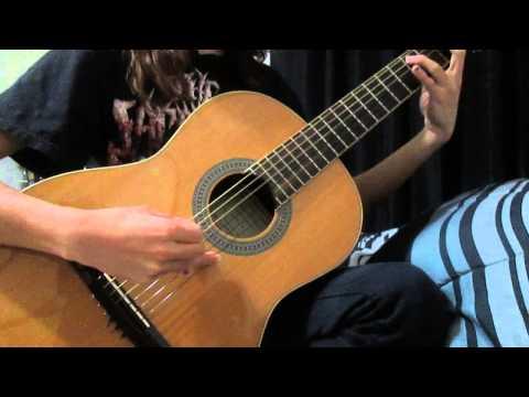 acoustic math rock riff- ?Luna Lee?