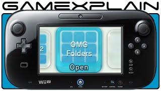 OMG Folders! Wii U System Update 5.2.0 U Tour