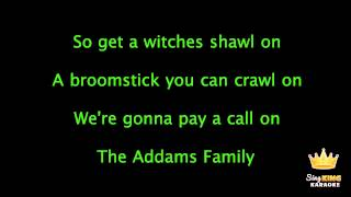 カラオケ The Addams Family Theme Song - Karaoke