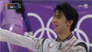 Yuzuru Hanyu 羽生結弦 (JPN) - 2018 PyeongChang, Figure Skating, Team Event, Men's Free Skate