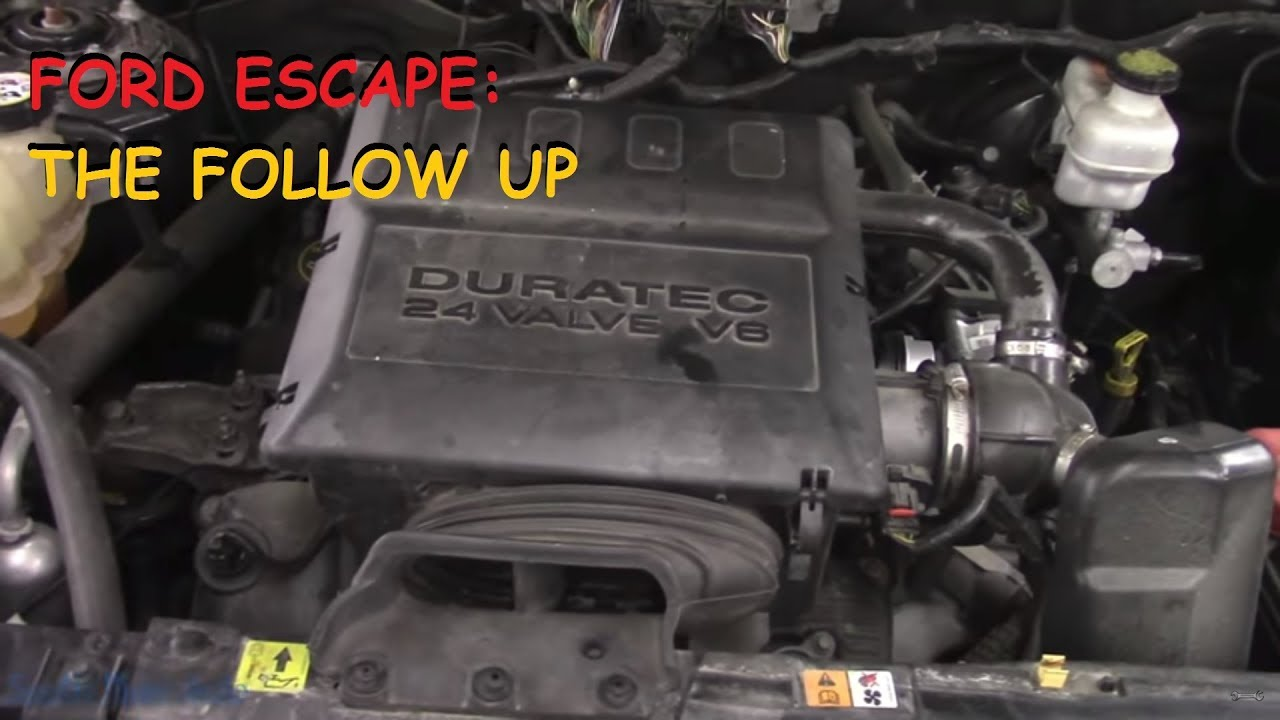 Ford Escape Engine Light Battery On The Follow Up