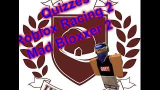 Roblox Universität:Quiz 2 ANTWORTEN!