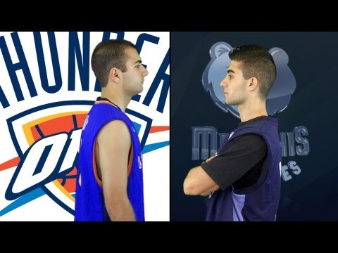 Memphis Grizzlies vs. Oklahoma City Thunder | NBA Playoffs Rap Battles (Round 2 - West Semifinals)