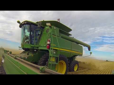 2017 Nebraska Wheat Harvest, Kepler Farms, Drone and GoPro