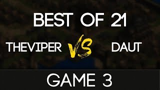 TheViper vs DauT BO21 - G3 Gold Rush