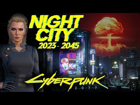 История Найт-Сити (2023 - 2045) Night-City | Cyberpunk 2020