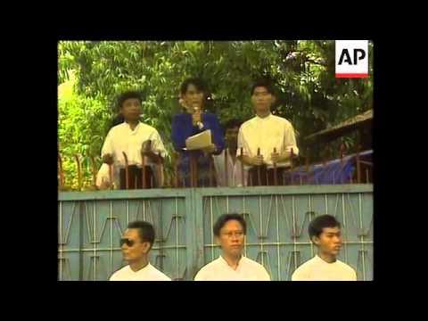Burma - Aung San Suu Kyi Speech