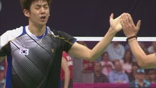 Indonesia v Korea - Badminton Doubles Quarterfinals | London 2012 Olympics