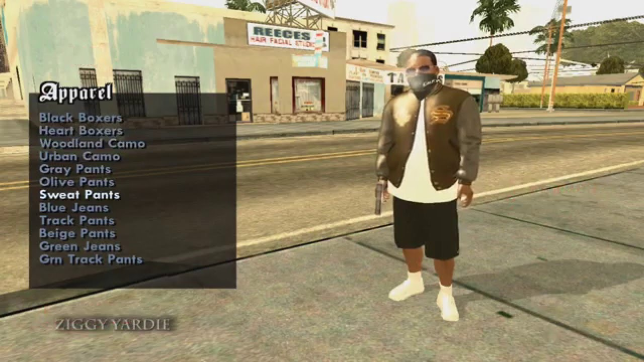 Gta V Franklin Android Player Img For Gta Sa
