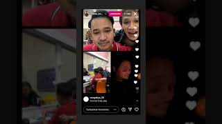 lihat Keuwuhan Jordy Onsu dan Frisly H- Ruben Onsu,Jorsly,Ivan Gunawan live bareng di Instagram