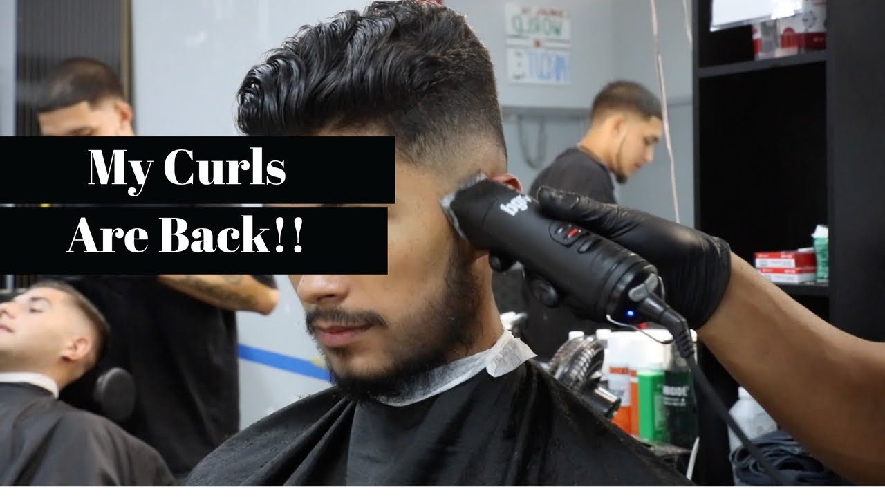 Getting A Hair Cut My New Hairstyle Youtube