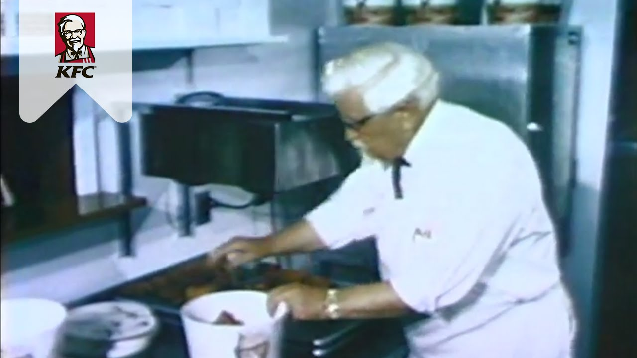 Vintage Colonel Sanders - YouTube