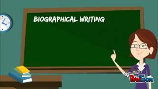 Teaching Biographical Writing