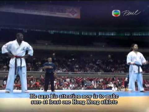 10 World tournament ,James Kouame,TVB news report-Tokyo