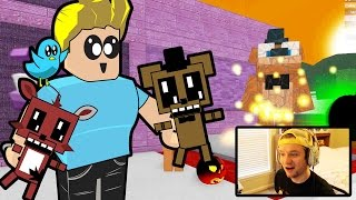 Roblox / Five Nights at Freddy's Plushie Tycoon / Facecam / Chad Alan Plays