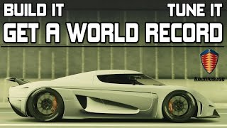 Forza Horizon 3 - EPIC 1500bhp Koenigsegg Regera WORLD RECORD - BUILD and TUNE