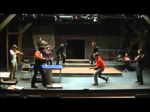 RENT rehearsal footage