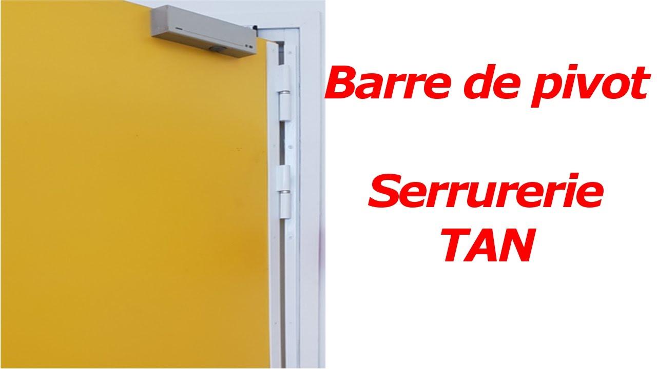 Tringle De Porte Entree tuto comment installer une barre de pivot ? comment changer des paumelles ?