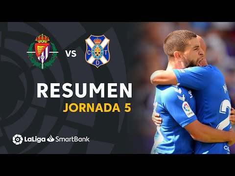 Valladolid Tenerife Goals And Highlights