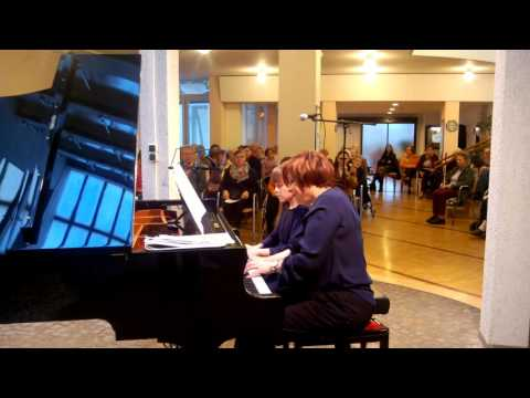 """R. Gliere"""" Prelude"""" from 12 Morceaux Op.48 - Lilly Beham (10) with Irina Mints"""