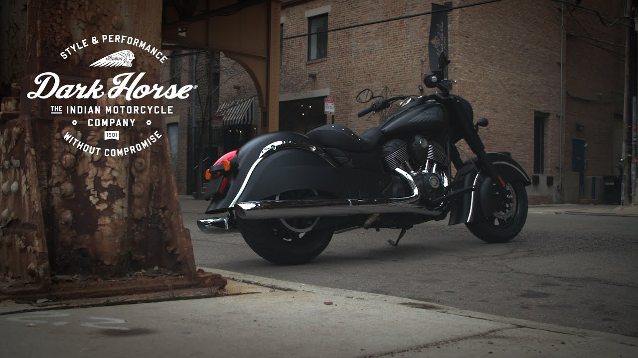 a closer look at the 2016 indian chief dark horse - youtube