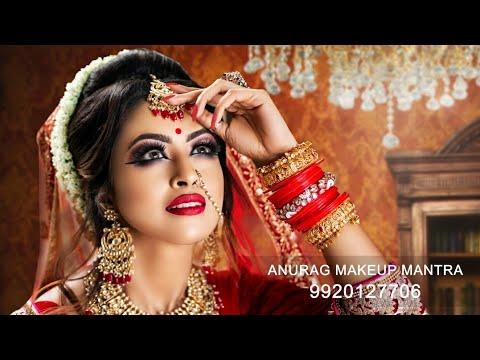 Bharatiya bridal makeup by Anurag makeup mantra Gurukul