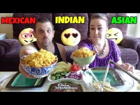 MUKBANG | MEXICAN, INDIAN & ASIAN FOOD | DARRELL'S ADDICTION