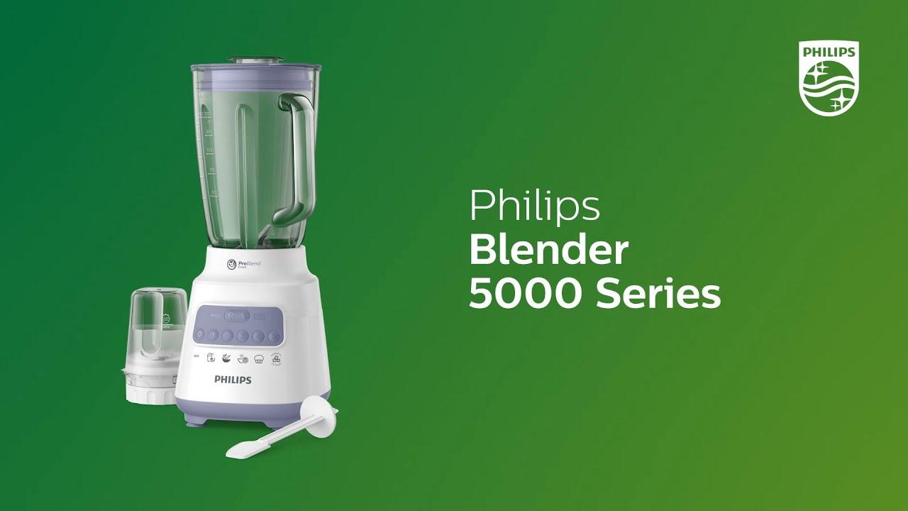 Philips Blender 5000 Series Hr2222 Youtube