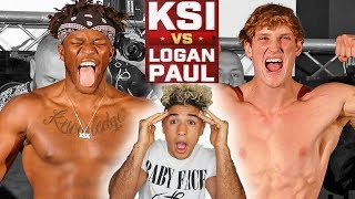 LOGAN PAUL VS KSI WEIGH INS (LIVE REACTION)