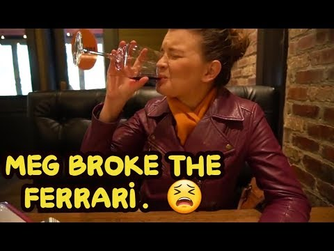 Meg BROKE the Ferrari 458, but it's an easy fix!